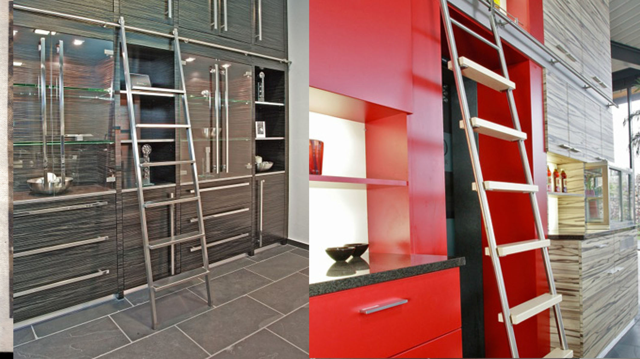 make closet ladder things easier modern stainless s the can world finest library ladders